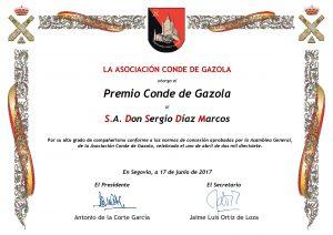S.A. Don Sergio Diaz Marcos